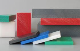 Platten: aus allen in Wirtschaft und Technik relevanten Kunststoffen