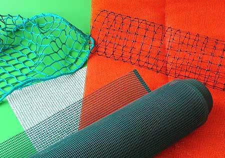 Netze und Gitter aus Kunststoff
