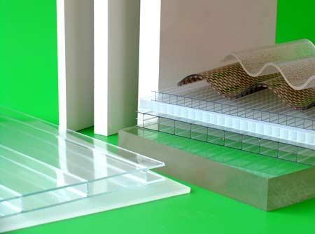 Kunststoffplatten für das Bauwesen