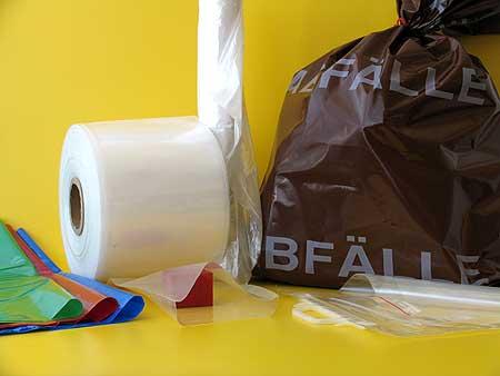 Verpackungsmittel aus Polyethylenfolie